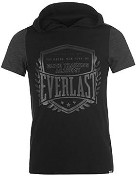 Everlast Hombre Capucha Camiseta Cuello Redondo Ropa Vestir Casual Camisa