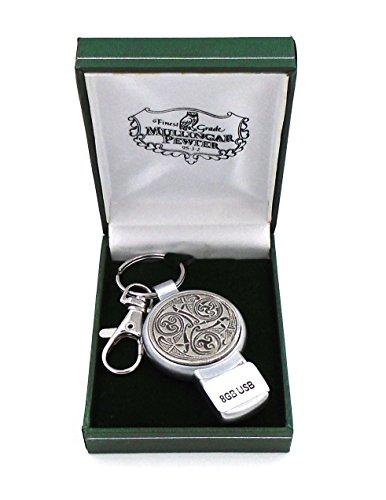 Mullingar Zinn Irish Celtic Triskele Design USB-Stick -