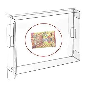 Ruitroliker 10Pcs Clear Box Fall Hülse Schutzhülle CIB Protector für NEO GEO Pocket Color NGPC Spiele Patronen Box