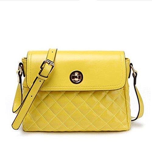 GBT Art- und Weisedame-Handtaschen, Schulter-Beutel. Freizeitpakete, Dating-Pakete Yellow