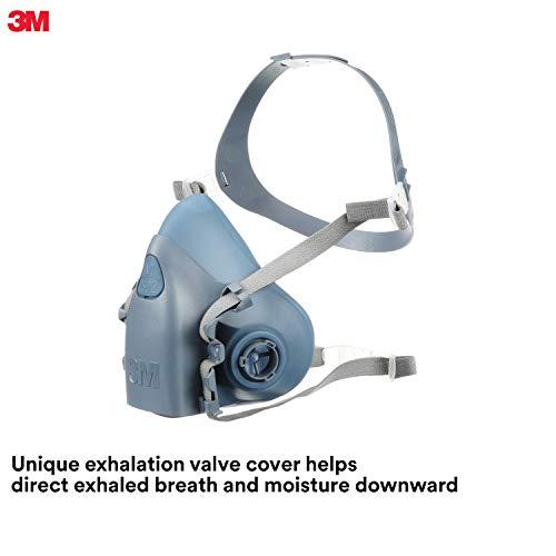 3M OH & ESD 142-7502 Medium H-lfte Facepiece ultimative wiederverwendbare