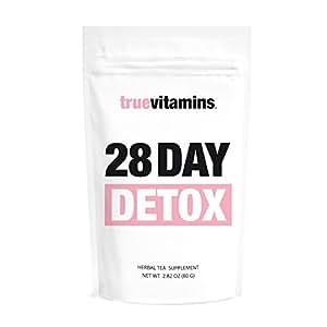 28 DAY DETOX Tee – zum Stoffwechsel anregen und Körper entgiften. Wohlschmeckende Detox-Kur für 28 Tage. Für alle, die gesund abnehmen und entschlacken wollen oder eine Stoffwechseldiät vornehmen.