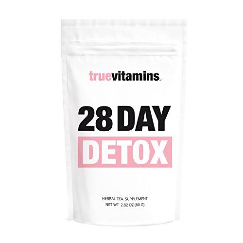 28 DAY DETOX Tee - zum Stoffwechsel anregen und Körper entgiften. Wohlschmeckende Detox-Kur für 28 Tage. Für alle, die gesund abnehmen und entschlacken wollen oder eine Stoffwechseldiät vornehmen.