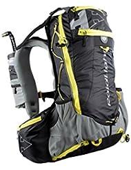 Raidlight bolsa ultrlight olmo 20negro y amarillo bolsa Running, color negro, tamaño Talla única
