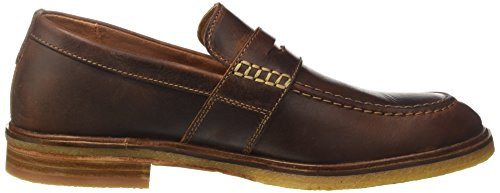 Clarks Clarkdale Flow, Mocassins Homme Marron (Mahogany Leather)