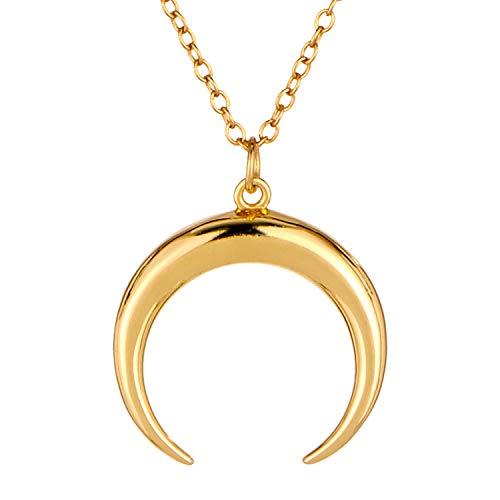 Goldkette Damen von BRANDLINGER Schmuck Damen. Die Goldkette aus 925 Sterling Silber mit 14 Karat Gold Plattierung. Länge der Kette Damen 40+5cm. Halskette Damen, designed in Deutschland.