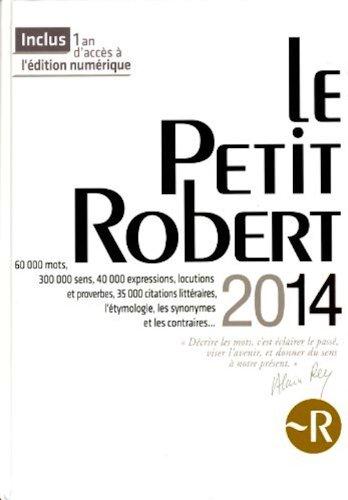 Le Nouveau Petit Robert 2008 (Grand Format) : Dictionnaire Alphabetique et Analogique de la Langue Francaise 2008 Edition par -