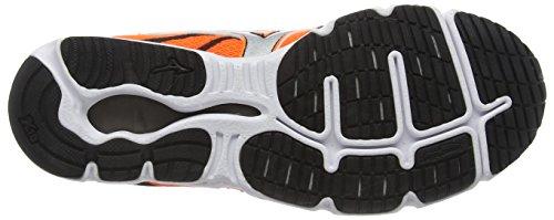 Mizuno Wave Hitogami 3, Chaussures de Running Compétition Homme Orange - Orange (Clownfish/Silver/Black)