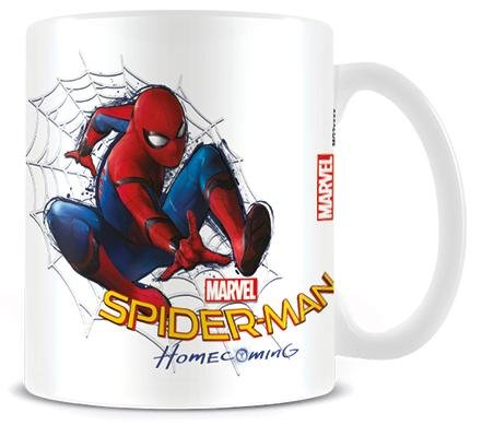 Spider-Man Homecoming - Web Mug blanc