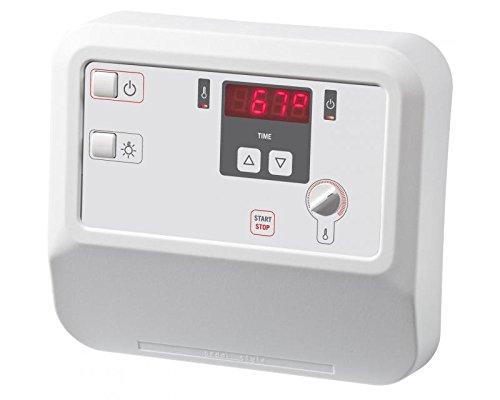 Sentiotec Sauna Steuergerät A2 digital Saunasteuerung Ondal mit Bankfühler