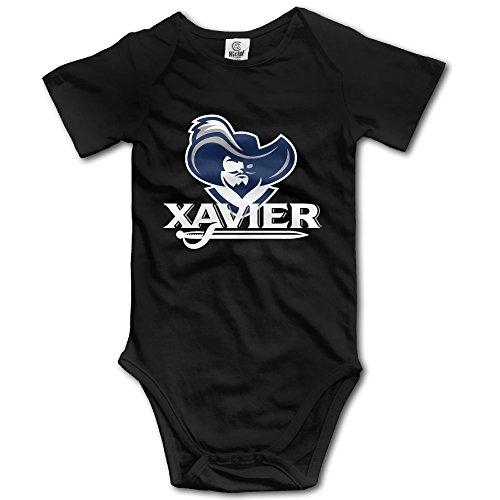 Neugeborene Kleidung Funny Xavier Die blau Blob Musketiere Cute Baby Outfits Einteiler -  schwarz -