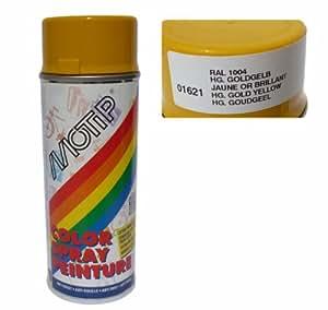 Aérosol MOTIP GLYCERO - RAL 1004 - brillant - 400 ml