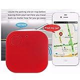 Mini Tracker TAOtTAO Auto Motor GPS Tracker Kinder Haustiere Brieftasche Schlüssel Alarm Locator Echtzeit Finder Gerät (B, Tracker)