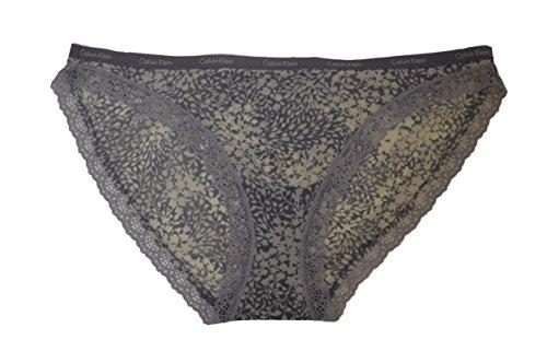 Calvin Klein Damen Bottoms Push-Up Bikinislip (X-Small, Bouquet Print) (Print Klein Calvin Bikini)