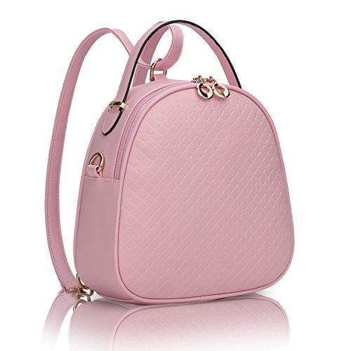 Borse Yy.f Borsa A Tracolla Borsa Messenger Selvatici Focacce Signora Zaino Tracolla Minimalista Collegio Vento La Moda Multicolore Pink