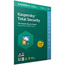 Kaspersky Total Security 2019 | 3 Devices | 1 Year | PC/Mac/Android | Activation Code by Post