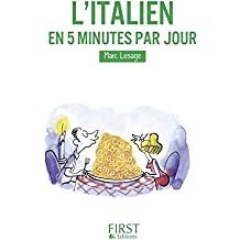 Petit Livre de - L'italien en 5 minutes par jour