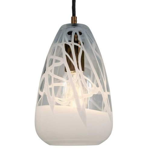 Bronze Canopy (Jesco Lighting PD412-CLWH/BZ 1-Light Line Voltage Pendant and Canopy with Bronze Socket, White by Jesco Lighting Group)