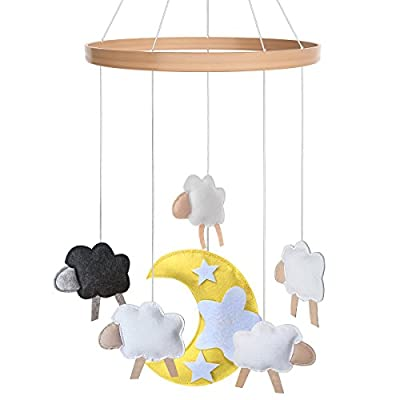 Cot Baby Mobile - Crib Toy Accessories for Boys + Girls