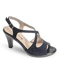 Schuhe Frau Sandalen mit Absatz G51401T White Größe 38 Weiß Valleverde CiSBw