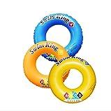 PVC ABCD Muster Erwachsene Sicherheit Aufblasbare Schwimmer Pool Spielzeug Schwimmen Ring Swim Pool Circle Buoy Float Runden