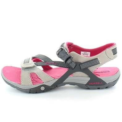 7339e5e20b8f Merrell Womens Womens Azura Webbing Upper Walking Sandal J24514 Pink Wild  Dove UK 7 (EU
