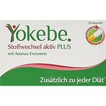 Yokebe Plus Stoffwechsel aktiv Kapseln, 1er Pack (1 x 28 Kapseln)