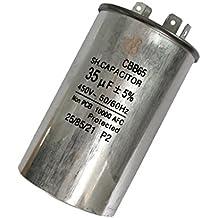 F Fityle Condensador de Accionamiento de Aire Acondicionado Aplicación: Accionamiento de Motor Unidad de Aire