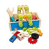 BINO 82147 4-in-1-Werkzeugkasten, mehrfarbig