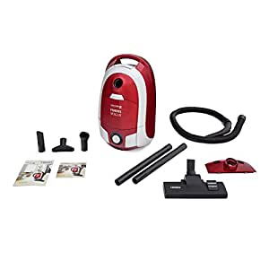 Eureka Forbes Vogue Upright 1400-Watt Vacuum Cleaner (Red and Silver)