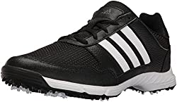 adidas Men s Tech Response WD Cblack F Golf Shoe Black 8 2E US
