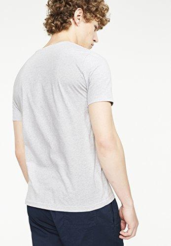 ARMEDANGELS Herren T-Shirts aus Bio-Baumwolle - James Seagull Rising - GOTS, ORGANIC, CERES-008 Grey Melange