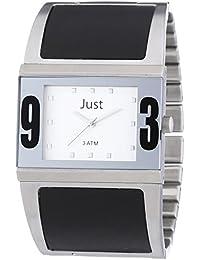 Just Watches Damen-Armbanduhr Analog Quarz Edelstahl 48-S0015-SL