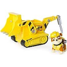 Diggin Bulldozer Vehículo de la pata de la Patrulla Escombros