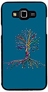 Printvisa Cartoon Tree Case Cover for Samsung Galaxy Grand 3 (2D-GR3-D7721)