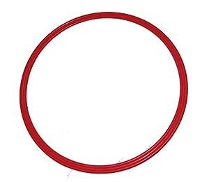 agility sport pour chiens - cerceau Ø 50 cm, rouge
