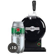 Pack Heineken THE SUB | Tirador de cerveza de barril THE SUB Black Edition + 10
