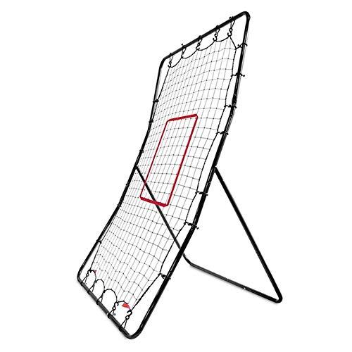 LeiSport One Pitch Return, Baseball & Softball Praxis Pitching & Fielding Net, Replacement Net 35.83 x 57.09 Inch