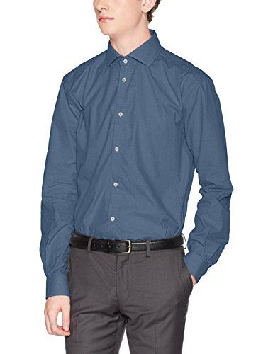 ESPRIT Collection Herren Businesshemd 097EO2F005, Blau (Navy 400), 43 Preisvergleich