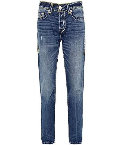 True Religion Hommes jeans skinny t super Rocco Indigo 42 Régulier