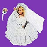 HERE COMES THE BRIDE DOLL ~ Downloadable Vintage 1951 Crochet Pattern ~ Text-to-Speech Enabled. Available for Download to Kindle DX, Kindle for PC, Mac, ... bride gift, shower gift, bridal shower)
