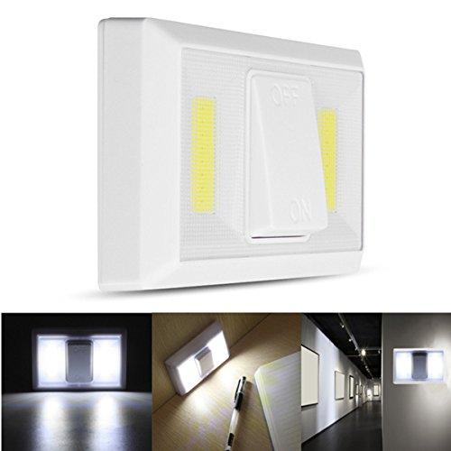 HANO Operated Drahtlose COBLight Super Bright Schalter Lampe für Cabinet Schrank Garage
