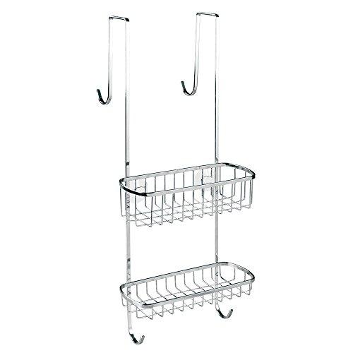 Interdesign gia estanter a para ducha estante para colgar for Estanterias ducha bano