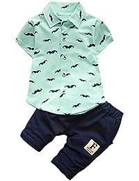 iBaste Muchachos Camiseta cortos + Pantalones cortos del verano del nuevo traje de niños