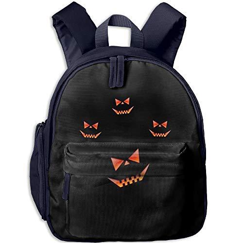 Pumpkin Lantern In The Dark Toddler Kids Pre School Bag Cute 3D Print Children School Backpack