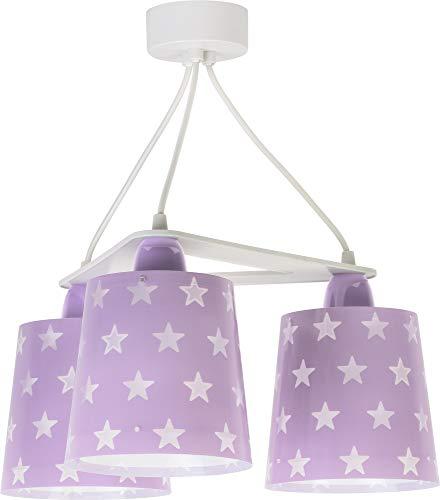 LED Kinderlampe Sterne Stern Stars 81214L Kaltweiß 880lm Mädchen Kinderzimmerlampe Deckenlampe