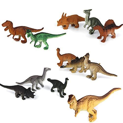 Modell Dinosaurier-Figuren Kinder Spielzeug-Set Dinosaurier Modell Cute Animals Geschenke Boys Toys Hobbies Kinder Mini kleines Plastik Dinosaurus Figuren Spielzeug 5-8 cm ()