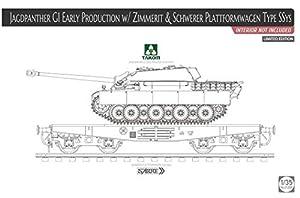 TAKOM TAK2125X 2125X 1/35 G1 - Panther de Caza con Zimmerit y Color Negro Plataforma: SSys (sin Interior).