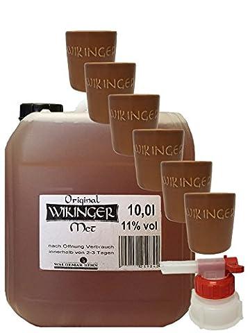 Wikinger Met 10 Liter Kanister + Tonbecher