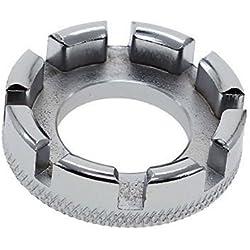Nmber-mm Llave inglesa de acero para bicicleta, 8 vías, herramienta de reparación